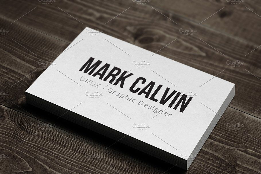 Simple Individual Business Card V2 Business Card Design Minimal Minimal Business Card Business Card Design