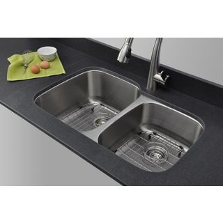 Wells Sinkware 16-gauge 60/40 Double Bowl Undermount Stainless Steel Kitchen Sink Review