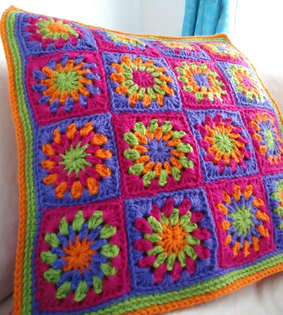 crocheted then hand felted - beautiful!