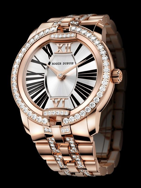 Roger Dubuis Velvet Watch Collection for Women @Roger Hawkins Dubuis