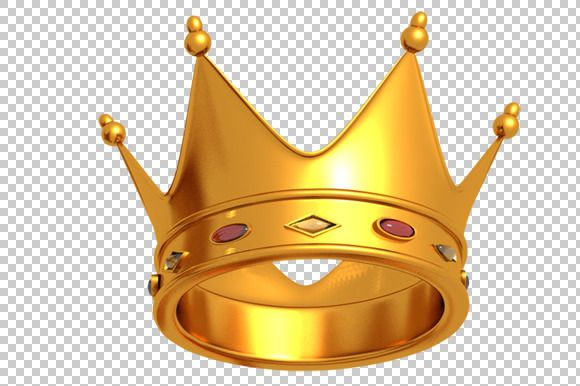 Check out Crown - 3D Render PNG by TrueMitra Designs on Creative ...