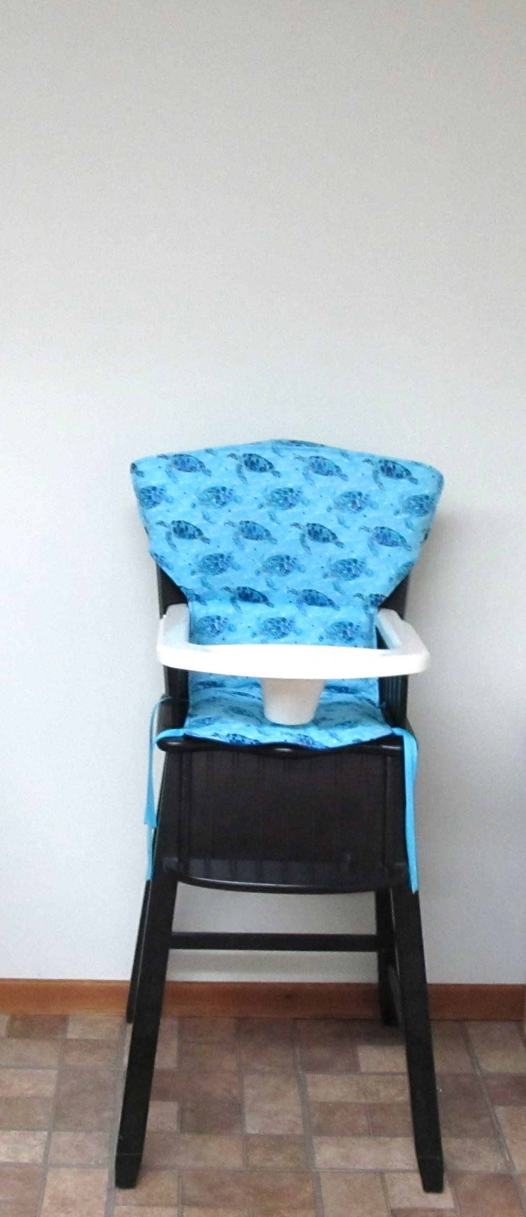 Eddie Bauer sea turtle print padded newport high chair