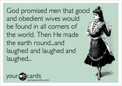 Obedient Husband Meme