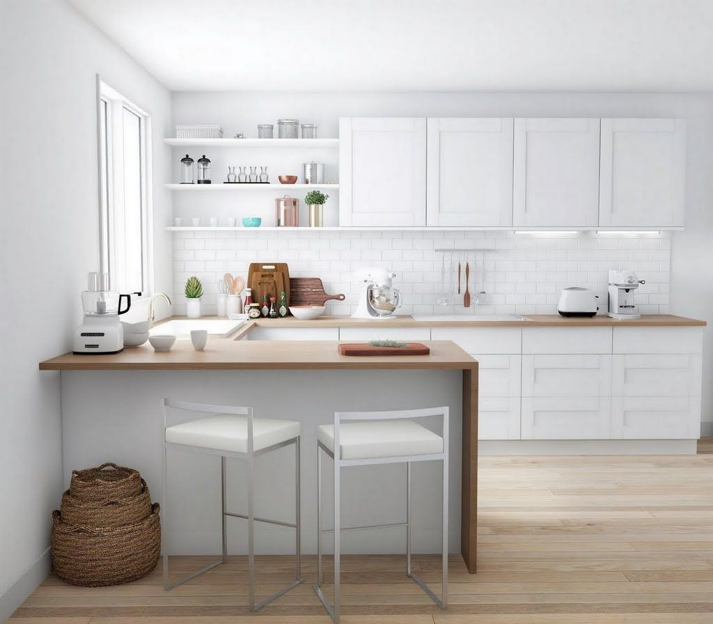 Shop Our Kitchen Department To Customize Your Modern Kitchen In Wood And White Today At The Home Depot Modern Kitchen Design Modern Kitchen Home Decor Kitchen
