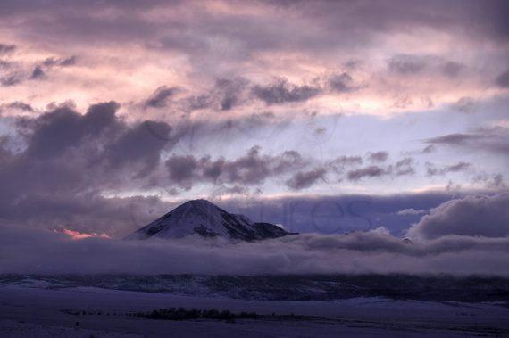 Digital Download Colorado Sky Mountain Photograph