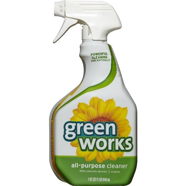 Green Works All Purpose Cleaner Spray, 32 Oz (Pack of 3) (100 BRL) ❤ liked on Polyvore featuring home, home improvement and cleaning