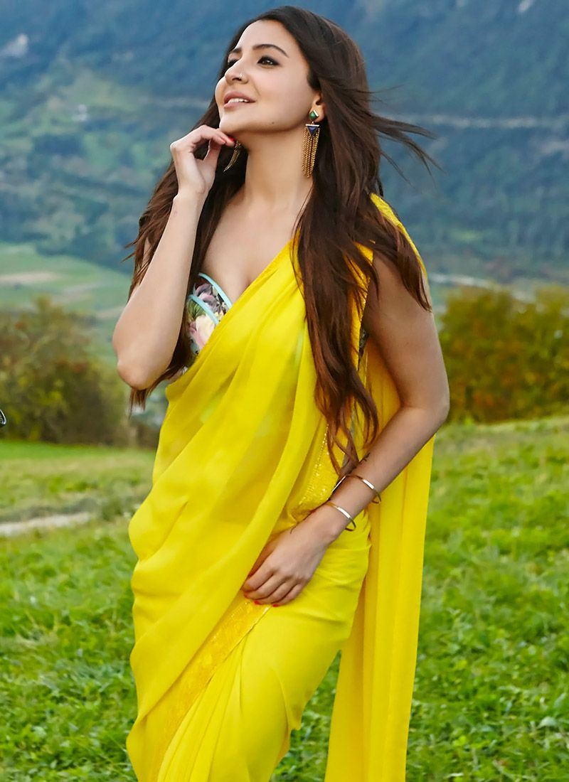 Image result for adhm yellow saree