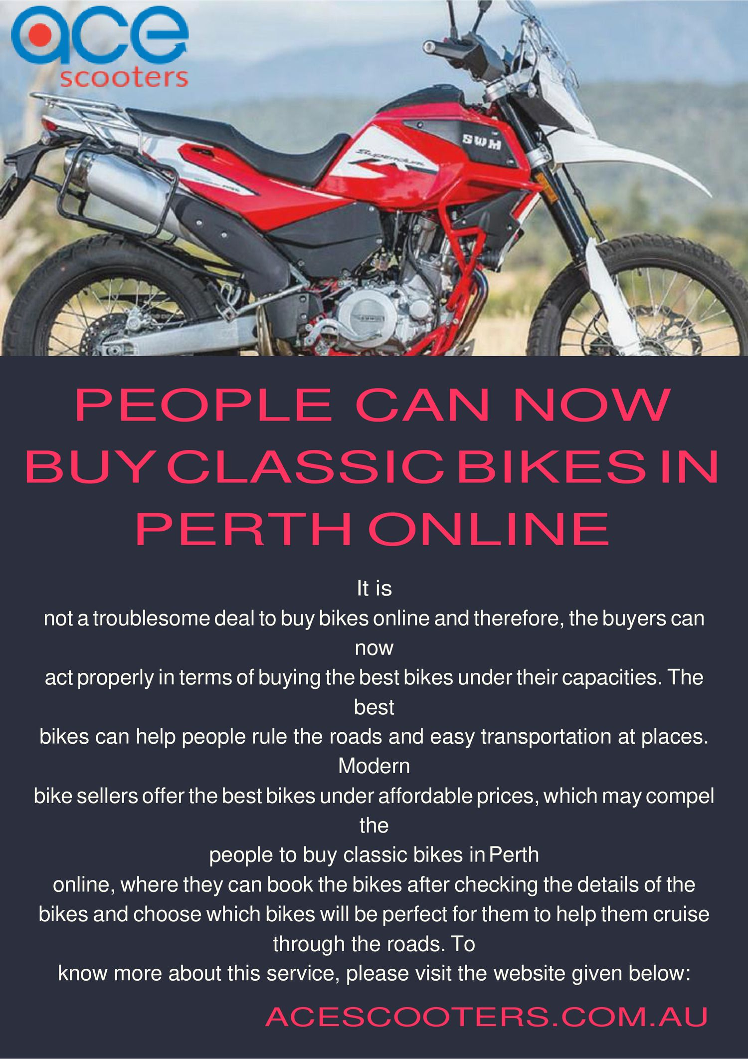 People Can Now Buy Classic Bikes In Perth Online Doc With Images