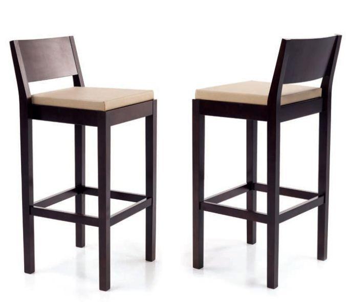 Taburetes y sillas acolchadas cocina comedor   taburete alto y ...