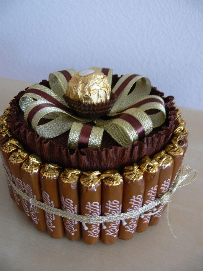 пирог букеты из конфет для мужчины на день рождения несколько лет