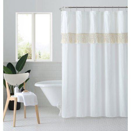 Home White Shower Curtain Shower Curtain