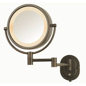Jerdon Lighted Wall Mirror 8 Walmart Com Wall Mounted Makeup Mirror Lighted Wall Mirror Wall Mounted Mirror
