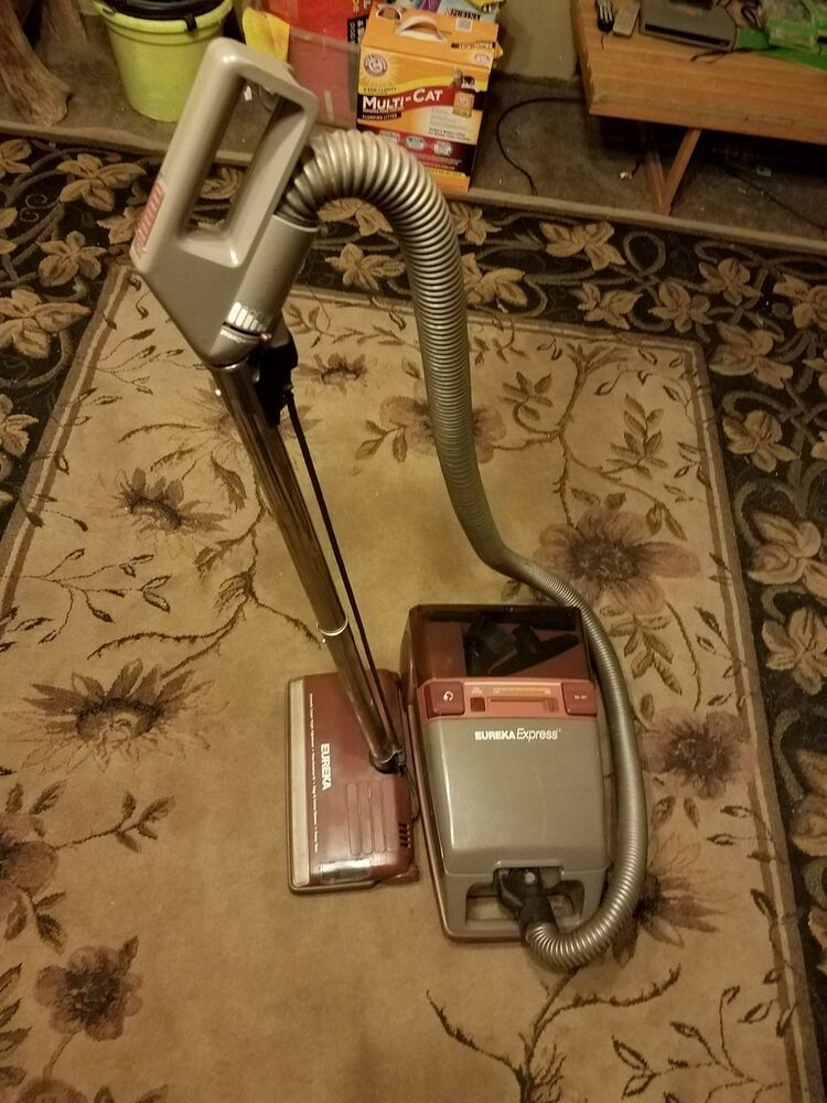 Eureka Express Canister Vacuum Cleaner Model 8286 A Very Clean Works Very Well Eureka Canister Vacuum Vacuum Cleaner Canister Vacuum Cleaner