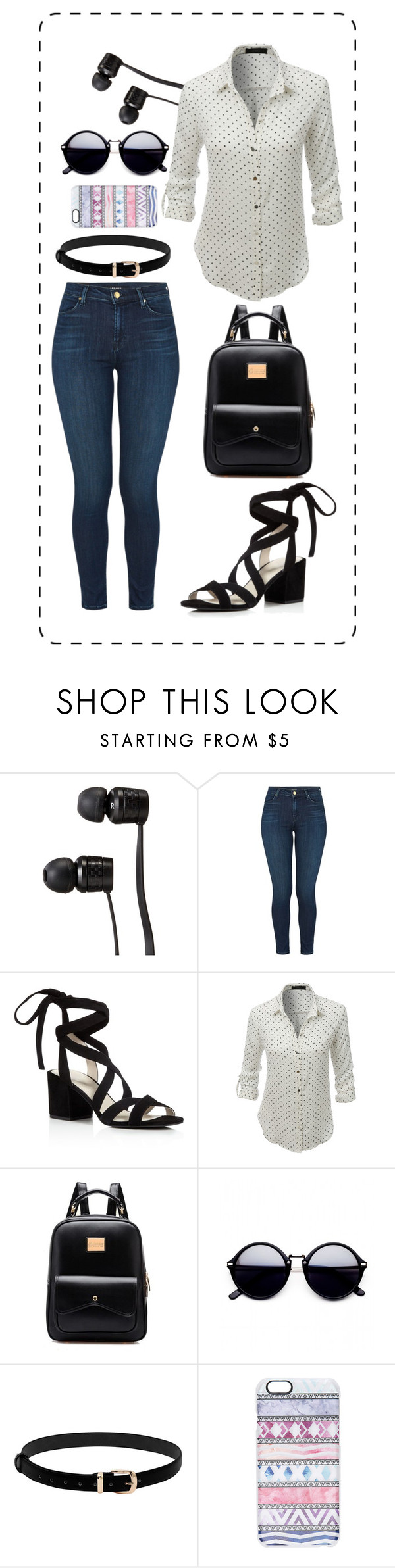 """Untitled #235"" by lucky1guppy on Polyvore featuring Vans, J Brand, Kenneth Cole, LE3NO and Casetify"