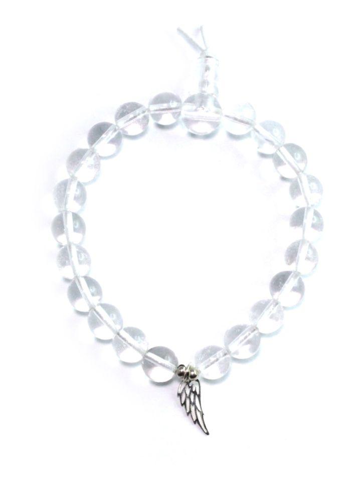 Silber armband engelsflugel