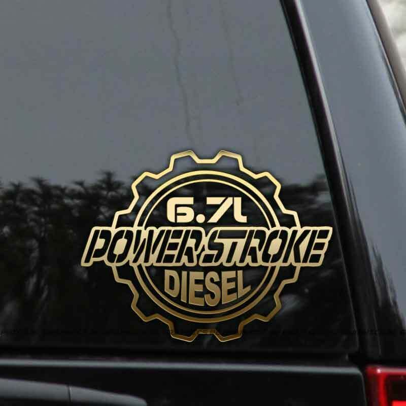 Powerstroke 6 7l Diesel Truck Decal Sticker Ford Turbo F250 F350
