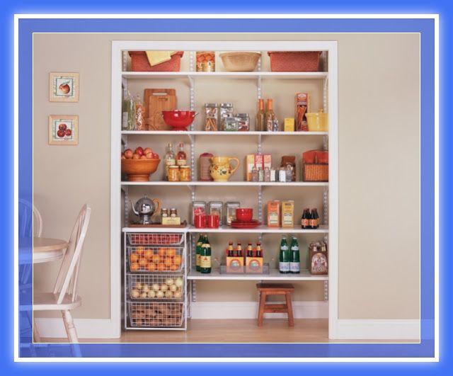 Diseños de muebles despensa pantry madera y melamina | Web del ...