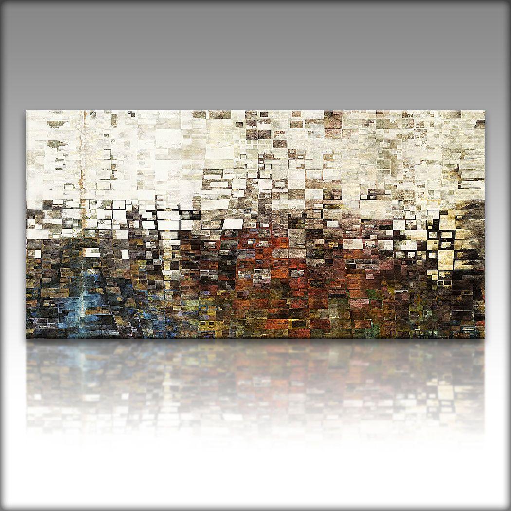 VnArtist / LEINWAND KUNSTDRUCK XXL Bilder Modern Abstrakt 4089 ...