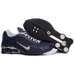 104265 079 Nike Shox R4 Black Black J09132