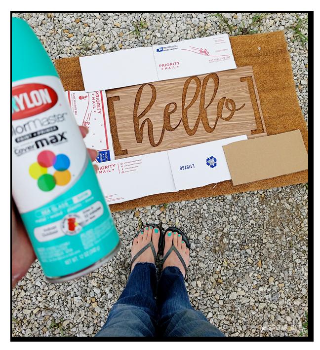 DIY Hello Door Mat - Sugar Bee Crafts  sc 1 st  Pinterest & DIY Hello Door Mat - Sugar Bee Crafts | Home Deco | Pinterest ...