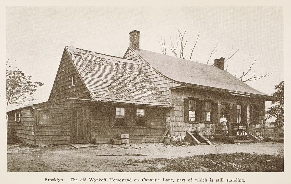 The old Wyckoff Homestead