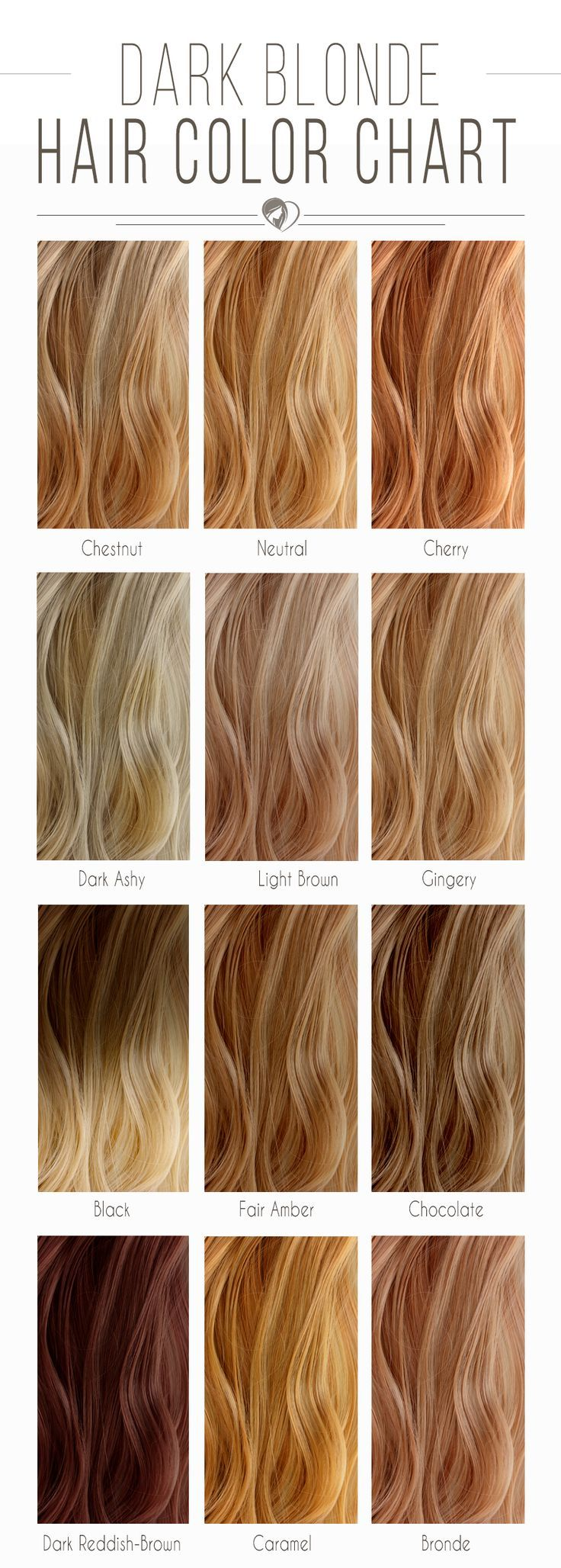 Blonde Hair Color Chart To Find The Right Shade For You Balayage
