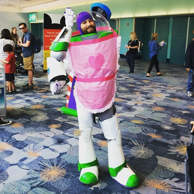 Pin For Later 35 Pixar Costumes To Make Your Halloween Bright And Terrific Buzz Lightyear As Mr Pixar Costume Toy Story Halloween Toy Story Halloween Costume