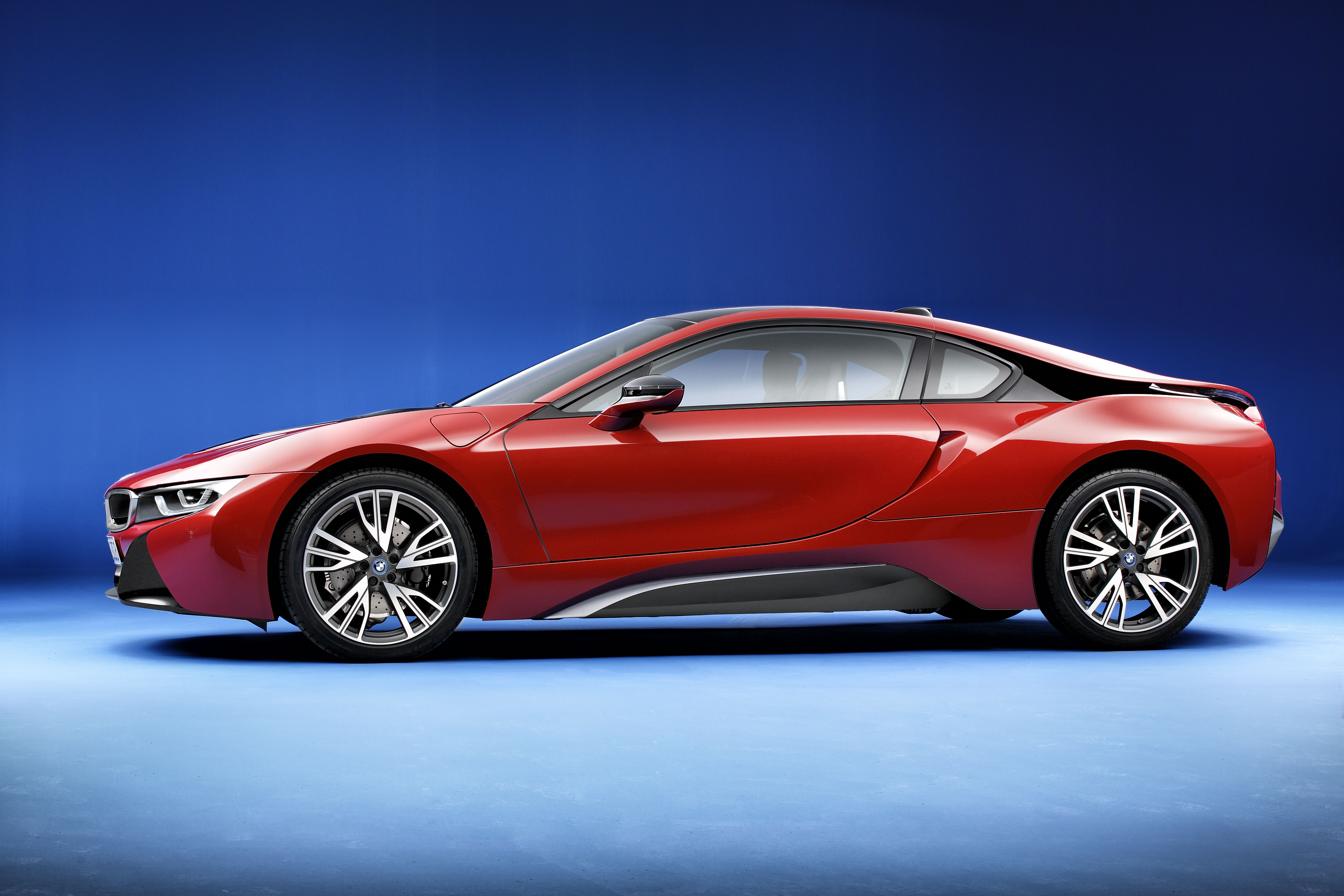 Bmw I8 Edrive Coupe Protonic Red Edition Burn Electric