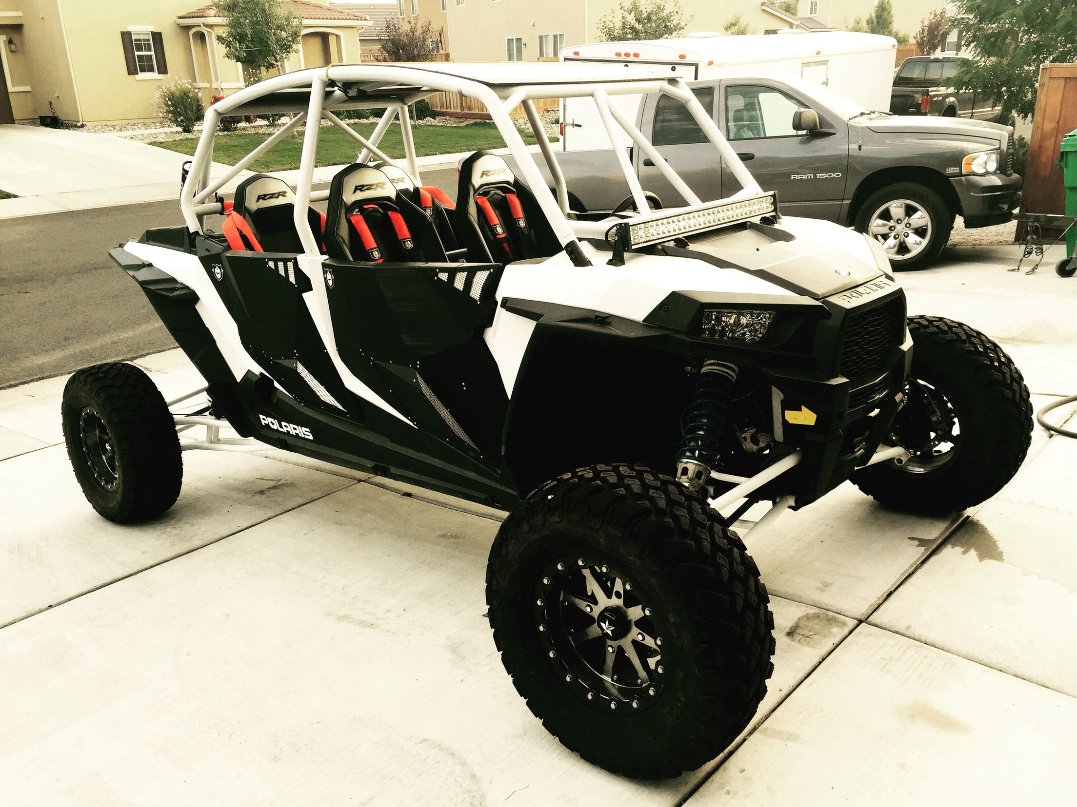 My RZR XP1K with the new NXS DESIGNS long travel kit | RZR