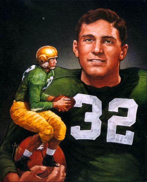 1947 Johnny Lujack - Notre Dame | Heisman Winners | Notre