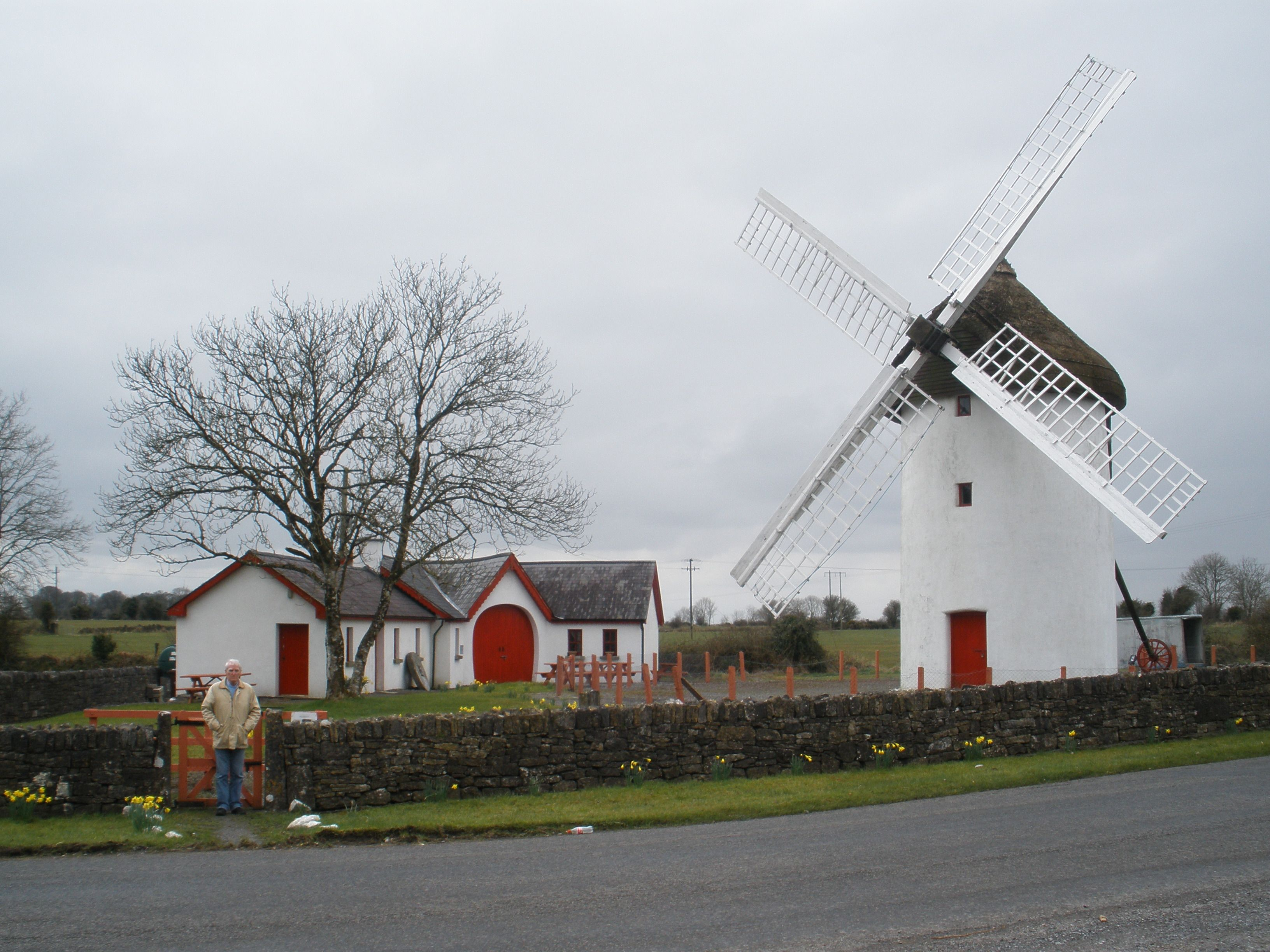 The 18th Century Elphin Windmill In Co Roscommon Ireland This Is