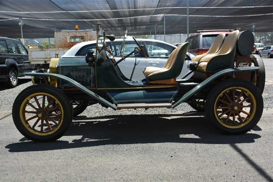 Circa 1914 Ford Model T Speedster 4 Seater Sedan Auction 0001 10001103 Classic Cars Sedan Ford Models