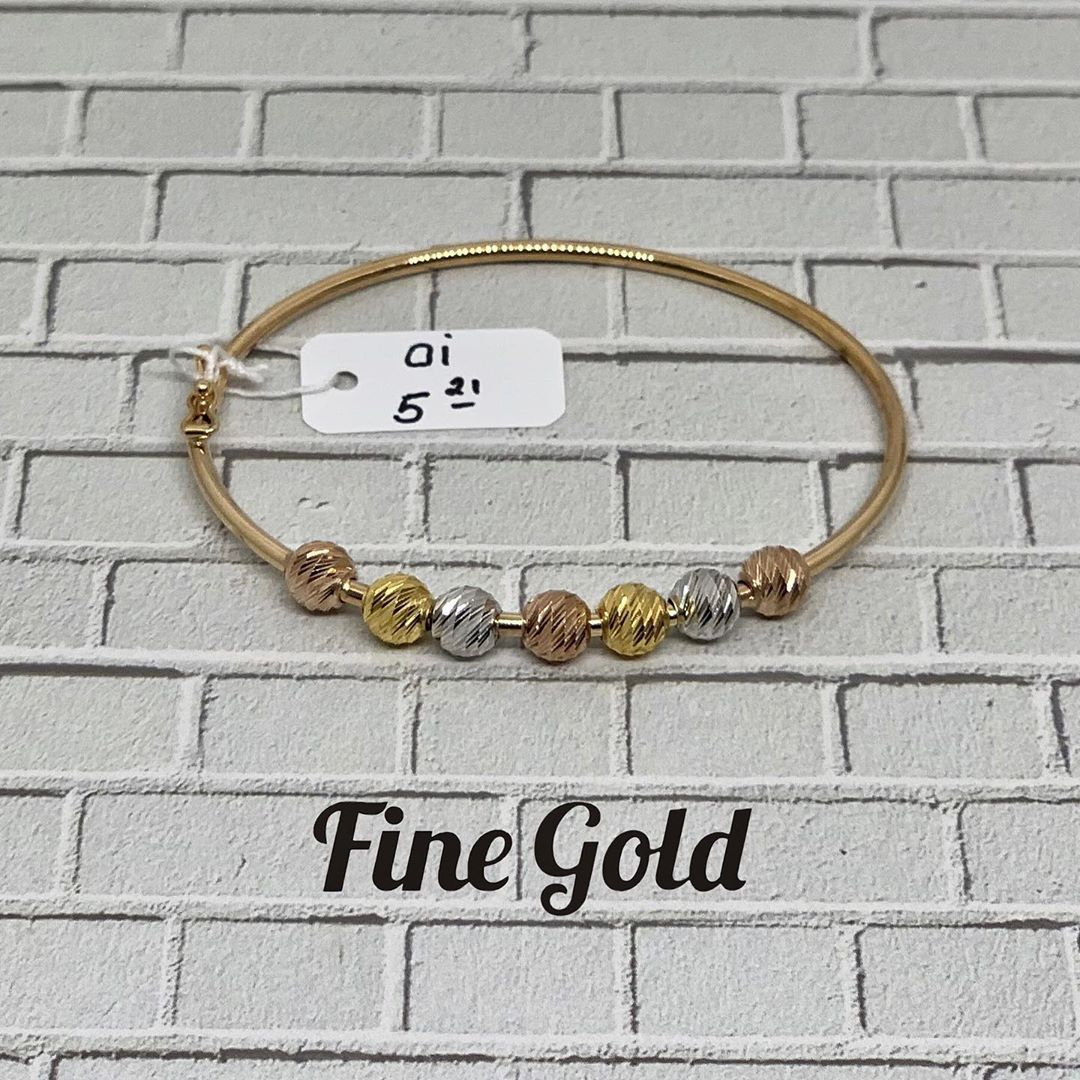 Hai haai, check update an koleksian gelang dari finegold