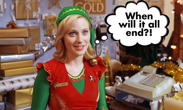 The Most Funniest Retail Humor Of All Time Funny Pictures Zooey Deschanel Elf