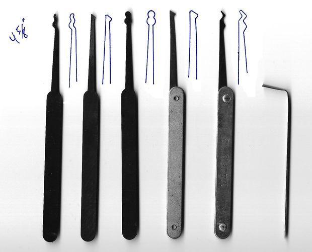 Imagem de lock picking conjunto de modelos | kulcsok | Pinterest