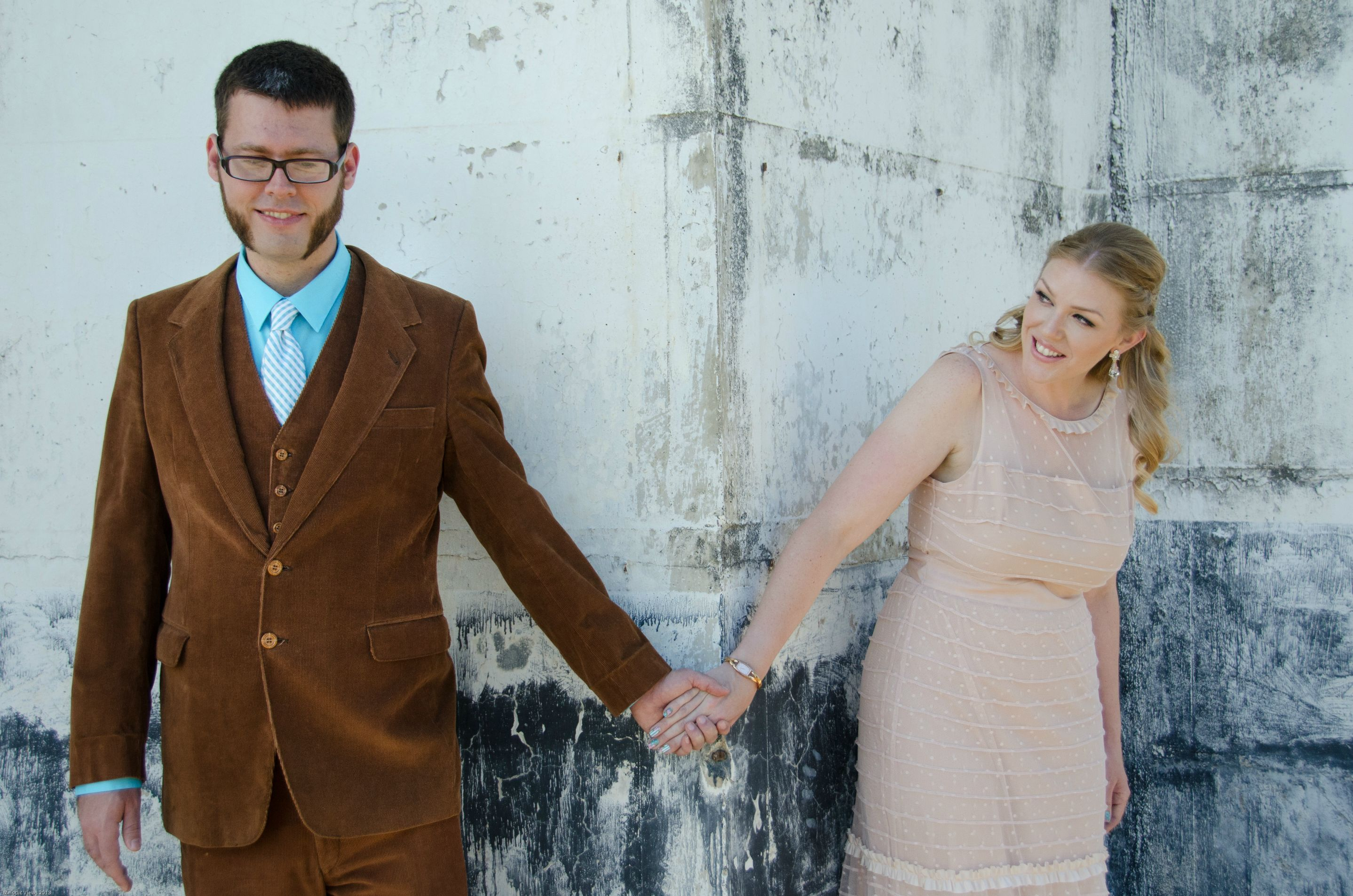 Kimberley & Keith\'s Wedding! First Look! Shabby Chic Vintage Brewery ...