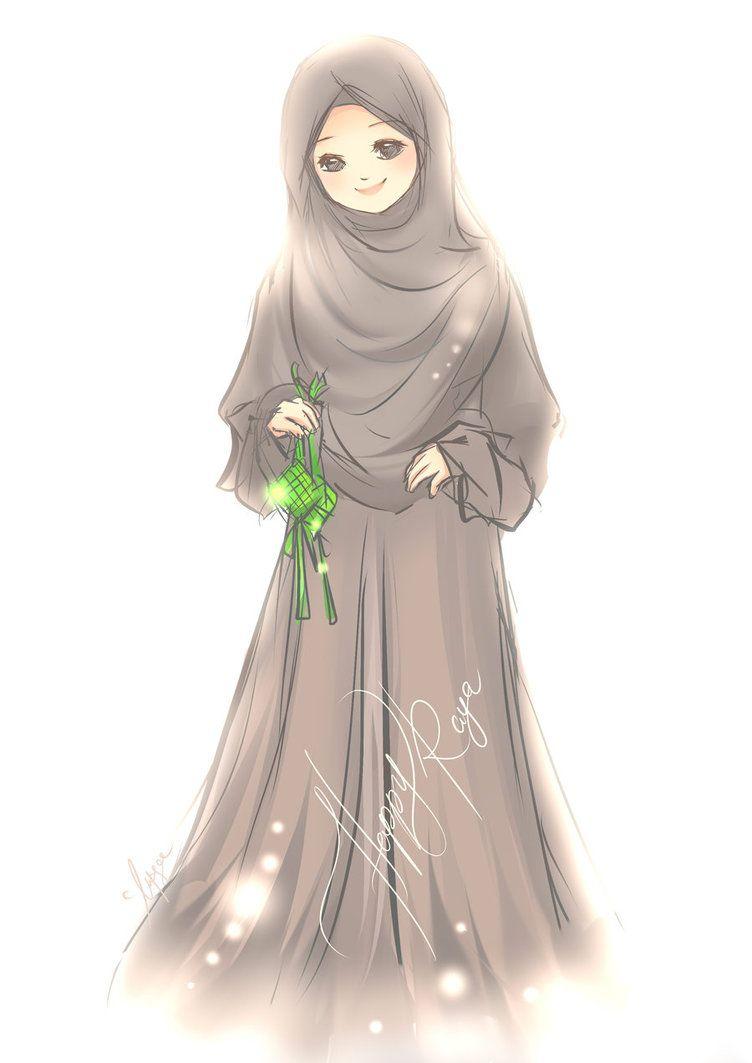 Poster Like Share Dan Download Poster Poster Islamik Anime Muslim Islamic Girl Islamic Cartoon