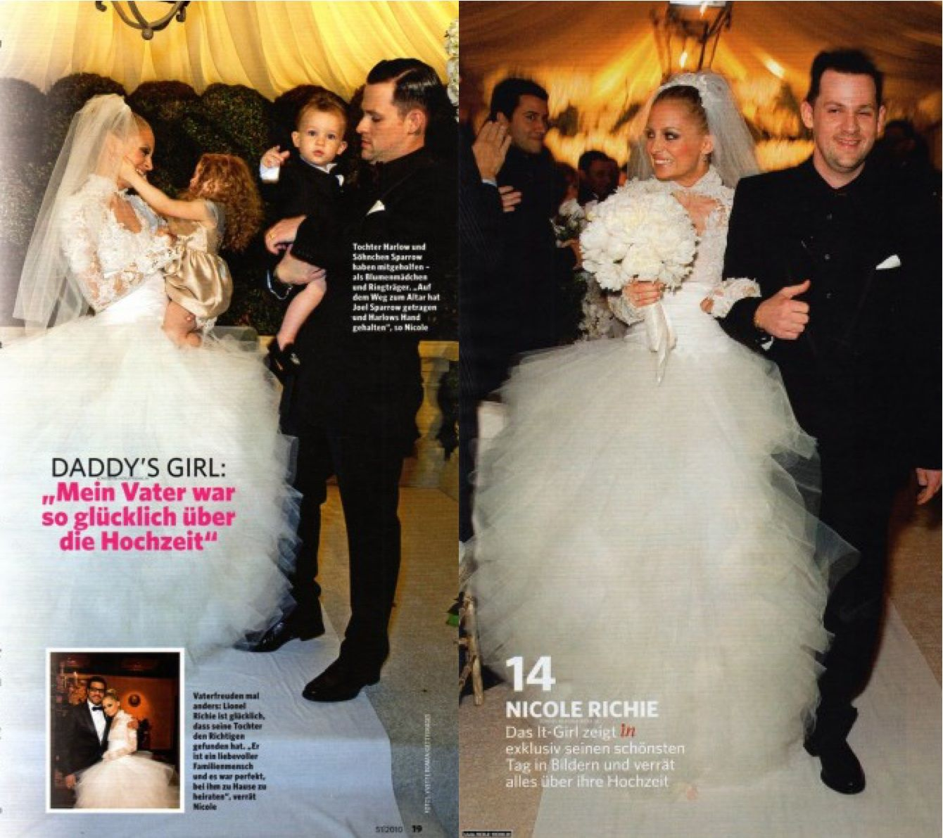Wele Joel Madden Wedding Movies Interracial Nicole Richie Album: Nicole Richie Wedding Dresses At Reisefeber.org