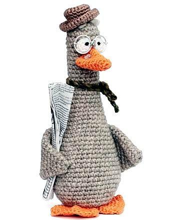 Free Crochet Pattern Goose #learning