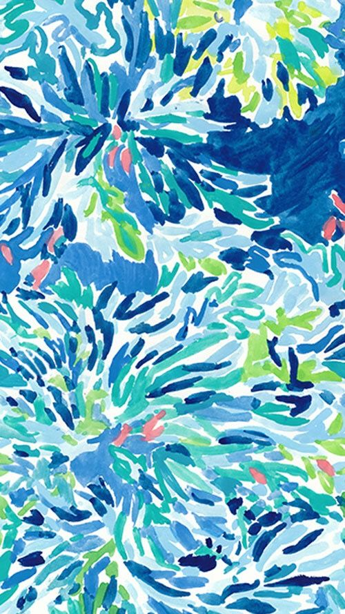 Wade And Sea Lilly Pulitzer Pattern Wallpaper Lilly