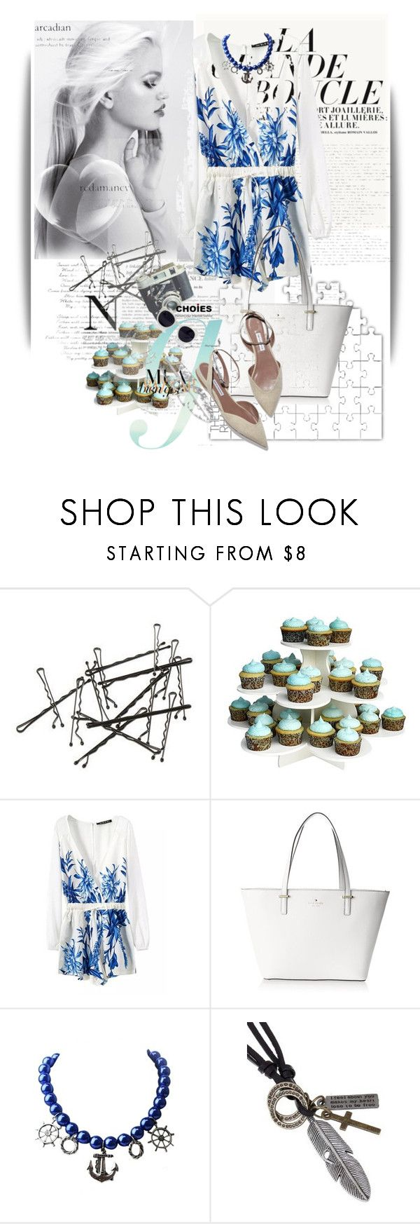 """""""Untitled #1197"""" by maja-k ❤ liked on Polyvore featuring The Smart Baker and Kate Spade"""