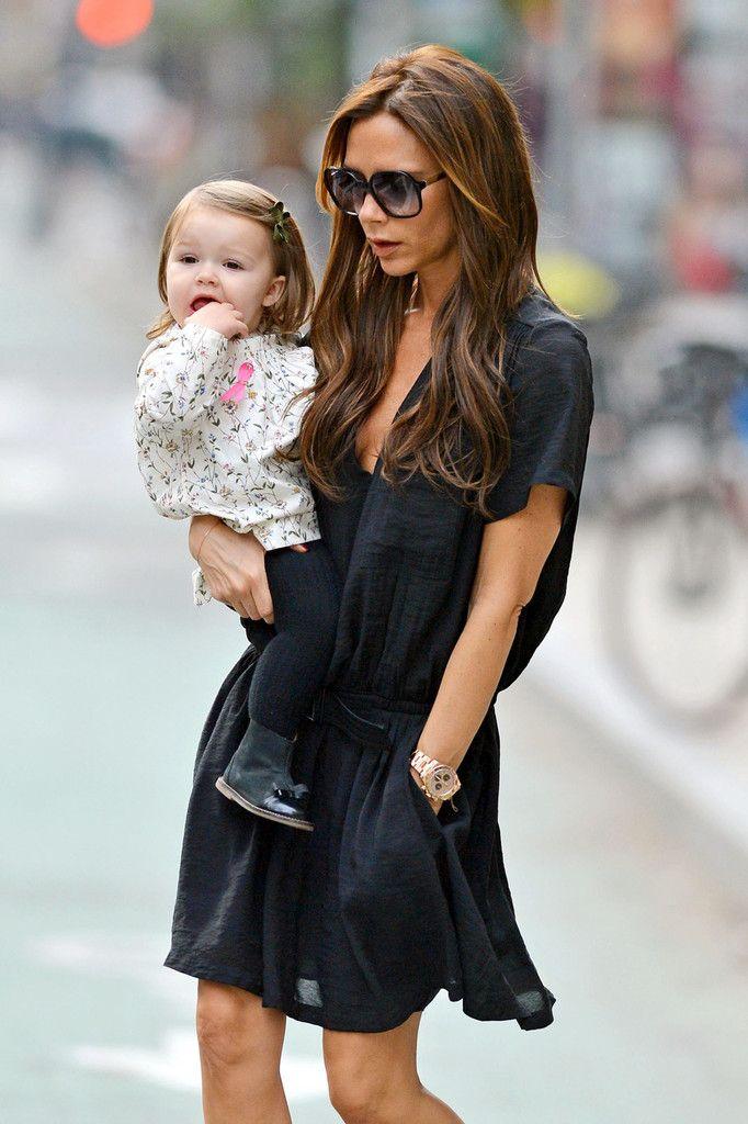 Victoria Beckham - Victoria Beckham and Harper Run Errands
