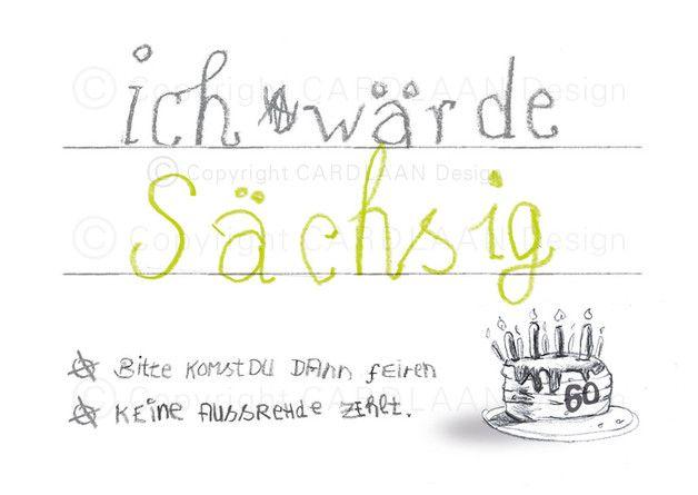 Außergewöhnlich Lustige Einladungskarten Zum Sechzigsten Geburtstag! Verschicke Kreative  Einladungen Zum Sechzigsten: Angebot 1: