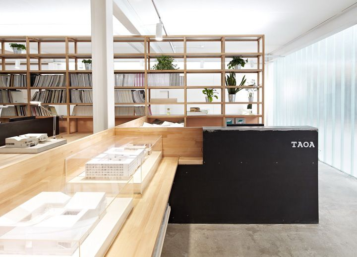 Architecture Studio Space taoa studiotao lei architecture studio - example of shelves