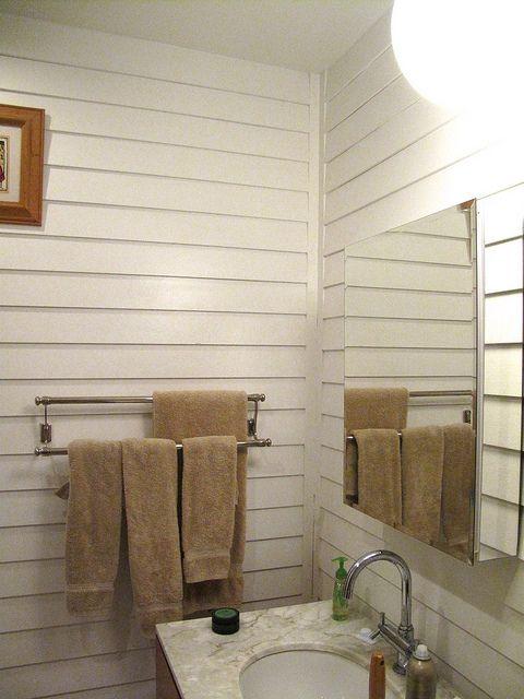 Clapboard Walls The Bathroom Clapboard Siding Ship