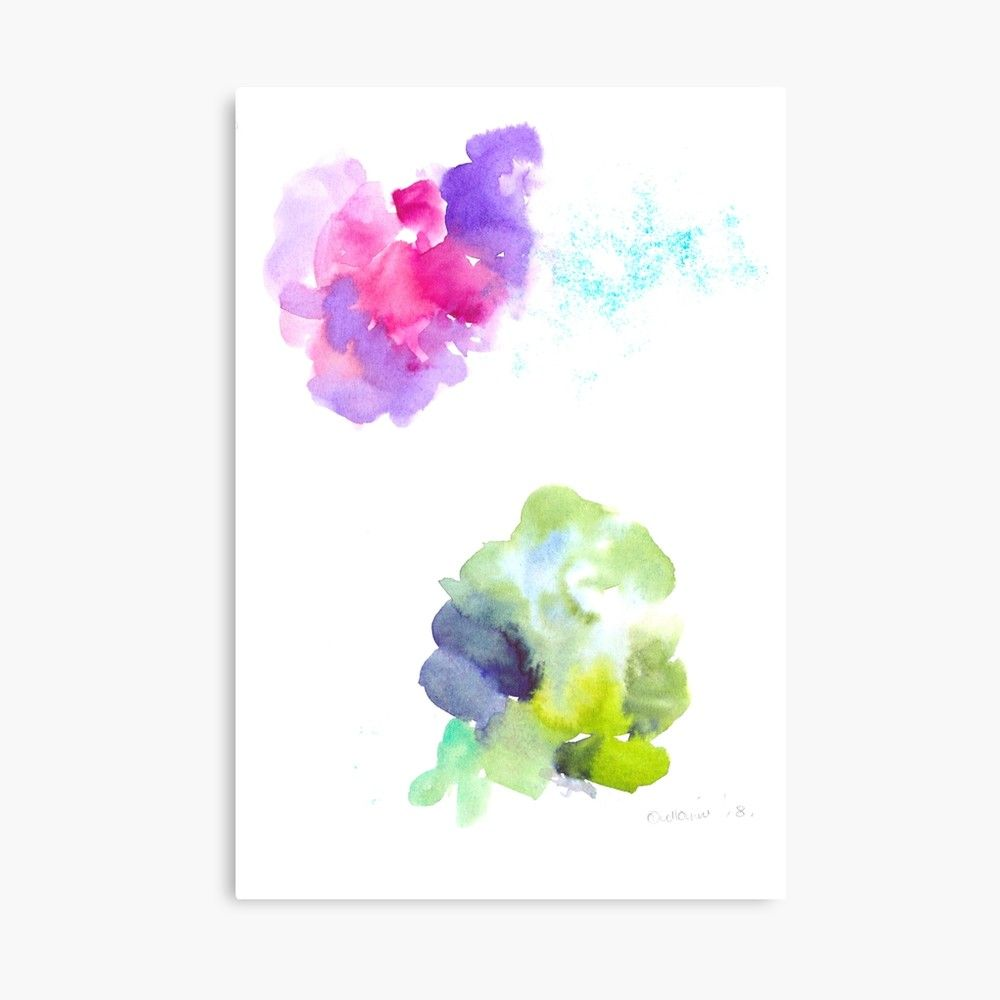 180802 Beautiful Rejection 10 Watercolour Abstract Art Prints
