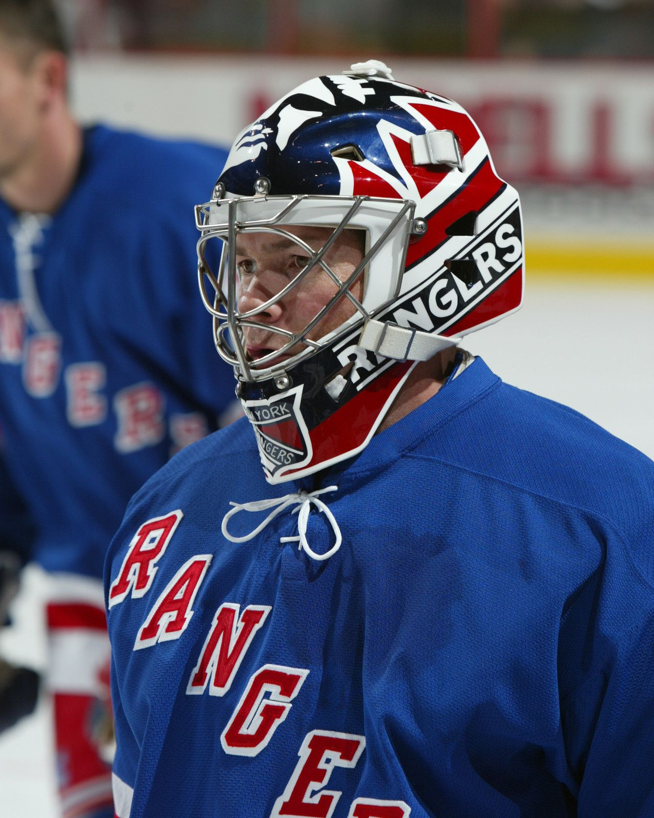 online store 4158e 18f14 MIKE RICHTER Unsigned NEW YORK RANGERS 8x10 Photo   Mike ...