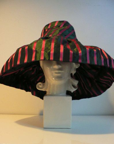 Vintage 1940s Couture Hat with Gloves Lewis New York 1940s Floppy Hat   eBay