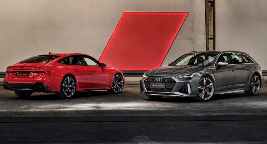 2020 Audi Rs6 Avant And Rs7 Sportback Detailed In The Uk Prices Start From 92 700 Audi Rs6 Audi Rs Rs7 Sportback