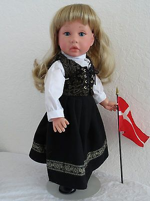 "18"" Nordic Girl Friend Doll Britta ""Button""in  Bunad -SHIPS TODAY!!!"